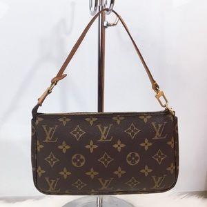 100% Authentic Louis Vuitton Pouchette Accessories